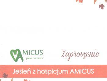 Konferencja Jesień z hospicjum AMICUS